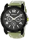 Sprout Unisex ST/7002BKLG Tyvek Green Recycled Strap Multi-Function  Watch