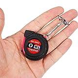 1M Mini Stainless Steel Tape Measure Feet Mini Gift Gadget Tools.