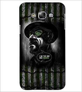 PrintDhaba Hat Man D-5081 Back Case Cover for SAMSUNG GALAXY GRAND 3 (Multi-Coloured)