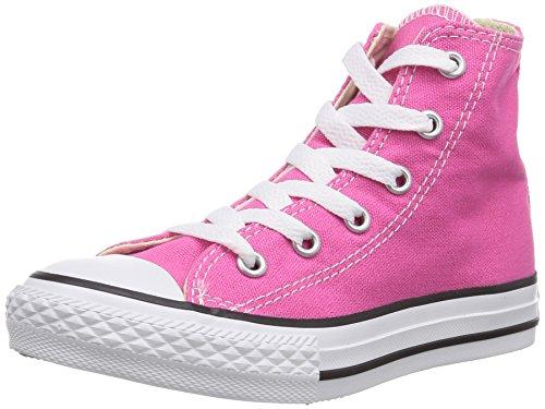 converse-chuck-taylor-all-star-hi-zapatillas-de-deporte-de-canvas-para-nino-rosa-rosa-34