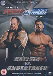 THE BEST OF RAW & SMACKDOWN VOL5 BATISTA VS UNDERTAKER DVD