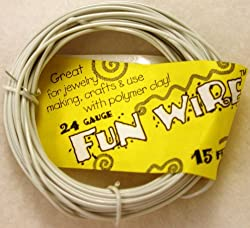 Fun Wire 24 Gauge Coil - Marshmallow