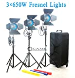 As ARRI 3 X 650W Fresnel Tungsten