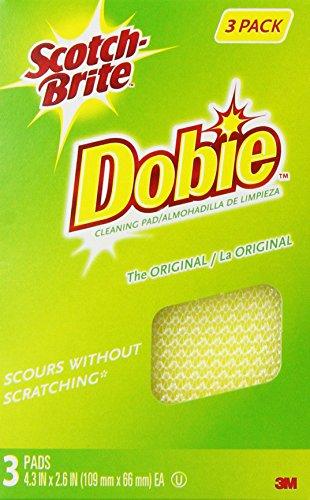 Scotch-Brite Dobie All-Purpose Pads, 3-Count (Pack of 8)