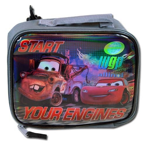 lunch boxes for kids disney cars quot start your engines rectangle lunch bag. Black Bedroom Furniture Sets. Home Design Ideas