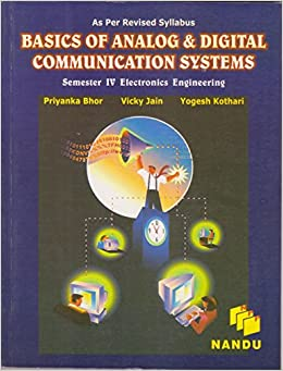 Basics of Analog & Digital Communication Systems available at Amazon for Rs.210