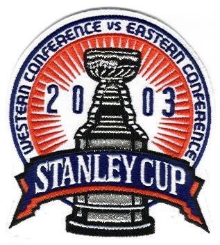 2003 NHL Stanley Cup Jersey Patch Anaheim Ducks vs. New Jersey Devils (Devils Stanley Cup compare prices)