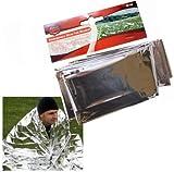 Emergency Silver Foil / Survival Blanket. Ideal For Cars, Caravans