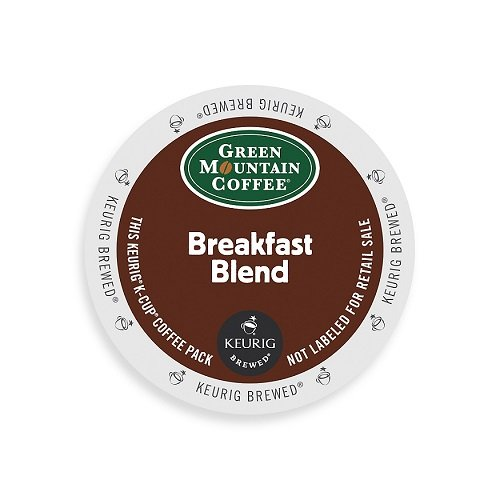 Best Price Green Mountain Coffee Breakfast Blend, Light Roast, K-Cup Portion Pack for Keurig Brewers...