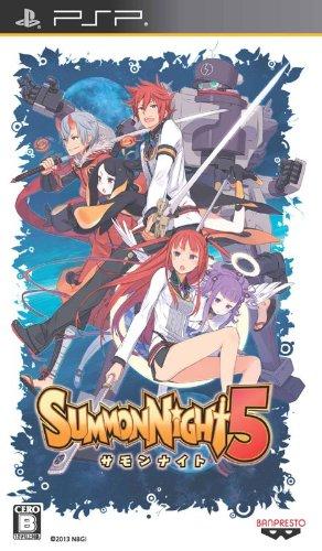 サモンナイト5 (初回封入特典ソーシャルゲーム「サモンナイト コレクション」の特設ページで入力すると「5」の主人公カードが入手できるシリアルコード 同梱)  予約特典『サモンナイト5』特別設定集 付 -