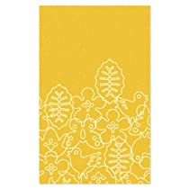 Hot Sale notNeutral Season Rug White / Canary Yellow - 5' x 8'