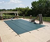 12' X 20' Rectangle In-Ground Pool Safety Cover - Green