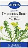 Alvita Tea Bags, Dandelion Root (Roasted), Caffeine Free, 30 tea bags, 2 Ounce