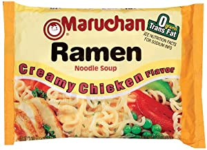 Maruchan Ramen, Creamy Chicken, 3-Ounce Packages (Pack of 24)