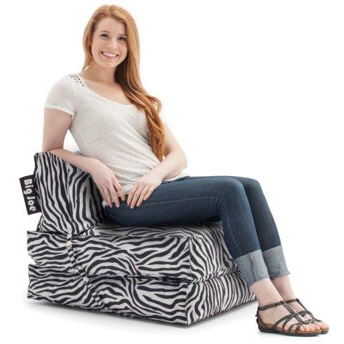 Big Joe Flip Lounger, Zebra front-511611