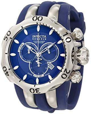 Invicta Men's 10826 Venom Reserve Chronograph Blue Dial Watch