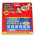 Joke Lotto Tickets - 3 Fake Winning Scratch Cards
