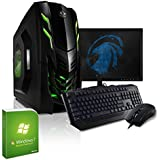 KCS [184151] - Gaming-Bundle (Maus, Tastatur, 60cm TFT), AMD FX-8320 8x3,5GHz, 8GB DDR3-1600, 1TB SATA3, Geforce GTX 960 2GB, ASUS, USB3, DVD, Cardreader, Sound, WLAN, Win7