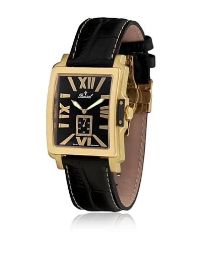 Bassel Reloj con movimiento cuarzo suizo 60132N Negro 39  mm