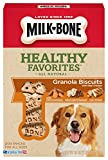 Milk-Bone Healthy Favorites Granola Dog Treats With Real Chicken, 18-Ounce (Pack of 3)