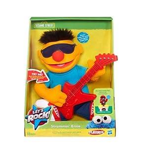 Hasbro - 37347 - Sesame Street - Let's Rock - Strummin' Ernie (Import Royaume Uni)