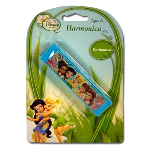 Fairies Harmonica on a Blister Card