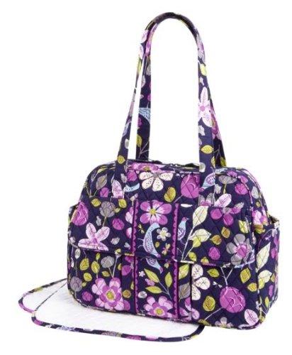 Vera Bradley Baby Bag in Floral Nightingale - 1