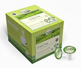 Teasia All Natural Green Tea 36-count K-Cup Tea Capsules Tea Pods for Keurig Brewers