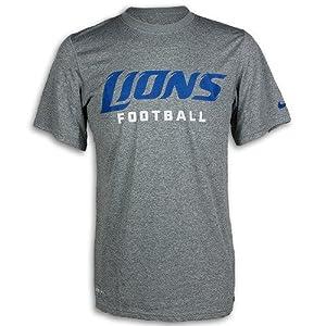 Detroit Lions Legend Authentic Font Dri-FIT T-Shirt by Nike by Nike