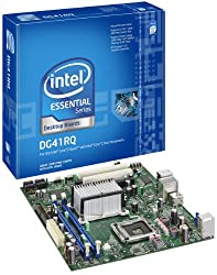 Intel Core 2 Quad/Intel G41/A&V&GbE/MATX Motherboard, Bulk BLKDG41RQ
