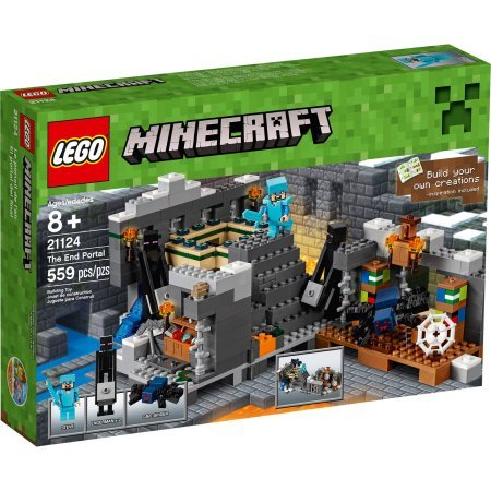 559 Pieces LEGO Minecraft The End Portal Model#21124 (Minecraft Model compare prices)