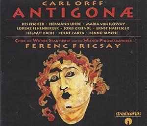 Orff: Antigonae (US Import)
