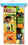 Fruit of the Loom Boys  7 Pack Assorted Nick Briefs Prints