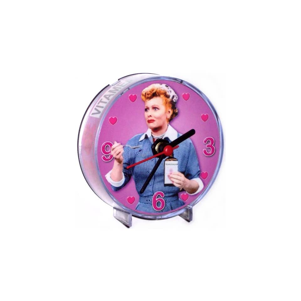 I Love Lucy Lucille Ball Magnetic Clock Vitameatavegamin