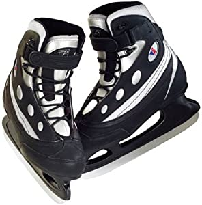 Riedell 830 Soft Boot Ice Skates - Hockey Blade - Size 6