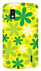 TrilMil Printed Designer Mobile Case Back Cover For LG Google Nexus 4 E960