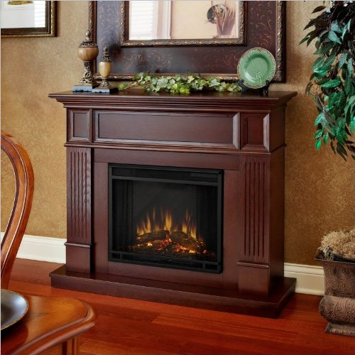 Real Flame Camden Electric Fireplace Mahogany photo B008F0TJNQ.jpg