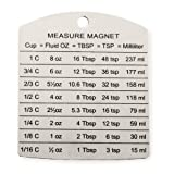 Stainless Steel Endurance Kitchen Cooking Measure Magnet