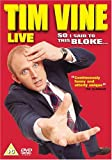 Tim Vine - Live - So I Said To This Bloke [DVD]