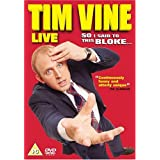 Tim Vine - Live - So I Said To This Bloke [DVD]by Tim Vine