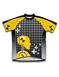 Caution Crashers Short Sleeve Cycling Jersey for Women