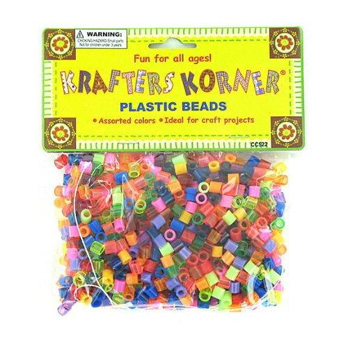 24 Huge assortment of plastic beads