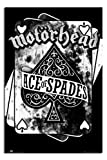 Motorhead Ace Of Spades Poster Gloss Laminated - 91.5 x 61cms (36 x 24 Inches)