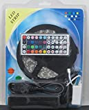 RGB LED Strip 5050 Indoor/Outdoor 16.4ft Kit Power Supply and 44 Key Remote - Sold By Better Bargain Buys
