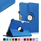 Fintie 360 Degrees Rotating Stand Case Cover for Samsung Galaxy Note 10.1 inch Tablet N8000 N8010 N8013 - Blue...