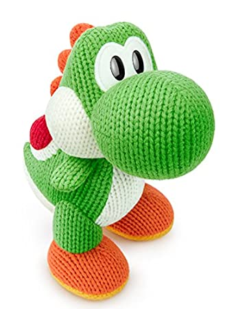 Green Yarn Big Yoshi amiibo (yoshi Woolly World) jp var