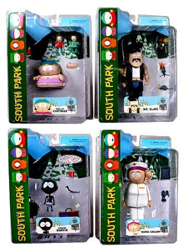 Picture of Mezco South Park Series 6 Action Figures Set of 4 (B0010T36W4) (Mezco Action Figures)