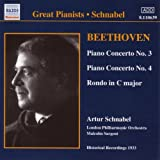 Beethoven-Piano Concertos Nos. 3 & 4; Rondo in C Major Artur Schnabel