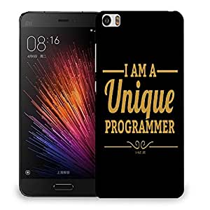 Snoogg I Am A Unique Programmer Designer Protective Back Case Cover For SONY XPERIA M5