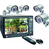 "Elro DVR74S Digitales Kamerasystem + 250 GB Festplatte mit 4x CMOS-Au�enfarbkamerasvon ""ELRO"""